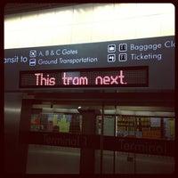Photo taken at LAS Tram by Michael S. on 10/15/2012