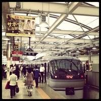 Photo taken at Seibu-Shinjuku Station (SS01) by Hirotomo S. on 6/24/2012