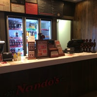 Photo taken at Nando's by Ibrahim B. on 1/2/2014