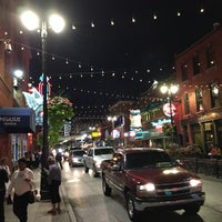 Photo taken at Greektown Historic District by Tyler M. on 9/24/2016