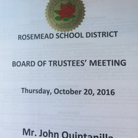 Photo taken at Rosemead School District by John Q. on 10/21/2016