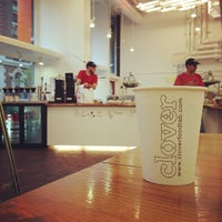 Photo taken at Clover Food Lab by Masao M. on 10/28/2012