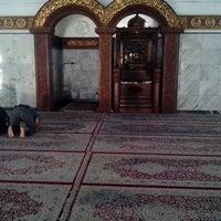 Photo taken at Masjid Agung Darussalam Bojonegoro by Dhani C. on 8/11/2013