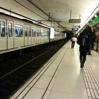 Photo taken at METRO Catalunya by Vicente G. on 3/1/2013