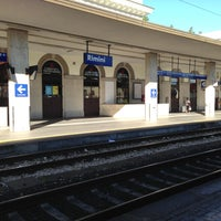 Photo taken at Stazione Rimini by Simone R. on 6/14/2013