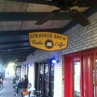 Photo taken at Strange Brew Austin Coffee by Dan F. on 2/15/2013