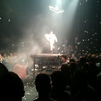 Photo taken at Daryl Roth Theatre (Fuerza Bruta Wayra) by Itai on 3/3/2013