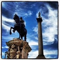 Photo taken at Trafalgar Square by Enric A. on 7/22/2013