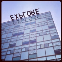 Photo taken at Lattie F. Coor Hall by Javier G. on 12/10/2012