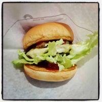 Photo taken at MOS Burger by Siriphon W. on 7/20/2013