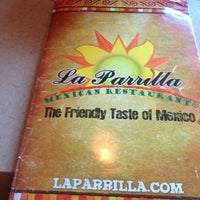Photo taken at La Parrilla Mexican Restaurant by Josh V. on 3/14/2013