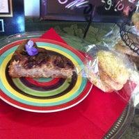 Photo taken at Pura Vida Bakery & Bystro by Vegan C. on 10/1/2013