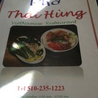 Photo taken at Phở Thái Hùng by Brittany K. on 1/1/2013