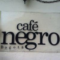Photo taken at Café Negro Bogotá by Davd A. on 2/9/2013