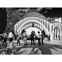 Photo taken at Parc de Sant Jordi by Marc R. on 4/14/2014