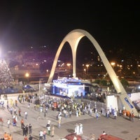 Photo taken at Sambódromo by Rapha O. on 2/11/2013