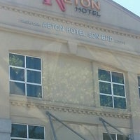 Photo taken at Aeton Hotel by Aiza T. on 2/2/2016