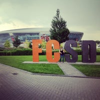 Photo taken at Donbass Arena / Донбасс Арена by Алена🐱 С. on 6/12/2013