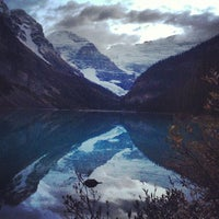 Photo taken at Lake Louise by Jim B. on 9/26/2013