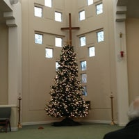 Photo taken at Lynnewood United Methodist Church by Peter on 1/6/2013
