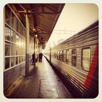 Photo taken at Kursky Rail Terminal by Artem P. on 5/23/2013