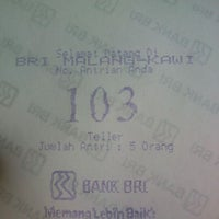 Photo taken at Bank BRI by Agunks S. on 8/14/2013