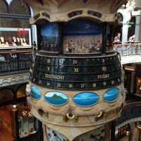 Photo taken at Queen Victoria Building (QVB) by Jacky Y. on 10/28/2012