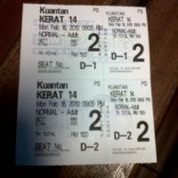 Photo taken at BIG Cinemas by 인탄-씨 \. on 2/18/2013