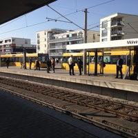 Photo taken at U Möhringen Bahnhof by Siegfried B. on 3/12/2014