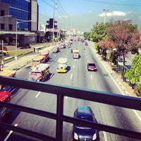 Photo taken at Marcos Highway by Jill S. on 4/1/2013