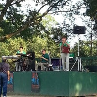 Photo taken at Slater Memorial Park by Judy B. on 7/18/2013