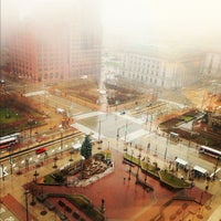 Photo taken at Public Square by Luis C. on 12/4/2012