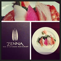 Photo taken at Zenna Thai & Japanese by Louis N. on 5/16/2013