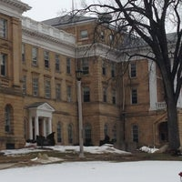 Photo taken at Bascom Hall by Lauren A. on 2/26/2013