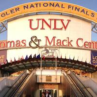Photo taken at Thomas & Mack Center by Thomas & Mack Center on 11/9/2013