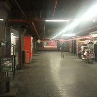Photo taken at Metro Turro (M1) by Alessandro R. on 2/15/2013