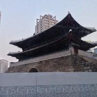 Photo taken at Sungnyemun by YoungSu K. on 3/15/2013