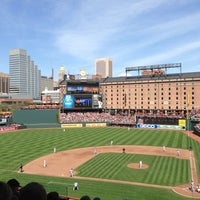 Photo taken at Oriole Park at Camden Yards by Brandon C. on 4/22/2013