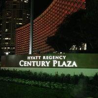 Photo taken at Hyatt Regency Century Plaza by Andee Y. on 12/25/2012