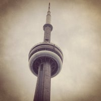 Photo taken at CN Tower by Aaron J. on 5/30/2013