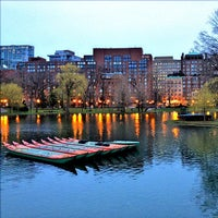 Photo taken at Boston Public Garden by Matt K. on 4/10/2013