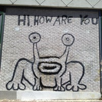 Photo taken at Hi How Are You? Mural by David S. on 4/20/2013
