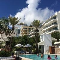 Photo taken at Poolside@ Miami Mariott by Juraj S. on 7/19/2016