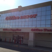 Photo taken at Office Depot by Jeff P. on 10/4/2012