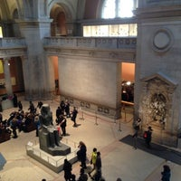 Photo taken at The Great Hall at The Metropolitan Museum of Art by Ekaterina L. on 3/17/2013