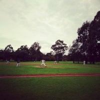 Photo taken at Glen Iris Baseball Club by Robbie M. on 6/1/2013