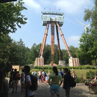 Photo taken at Bobbejaanland by Reyskens K. on 7/14/2013