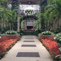 Photo taken at Longwood Gardens by Alex R. on 3/25/2013
