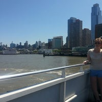 Photo taken at Gray Line New York Sightseeing Cruises - Pier 78 by Nour M. AlGh on 5/17/2014