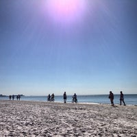 Photo taken at Fort Myers Beach by Katie M. on 1/27/2013